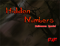 Hidden Numbers 2 : Halloween Special