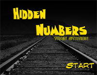 Hidden Numbers : Train Station