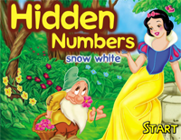 Hidden Numbers : Snow White