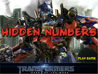 Hidden Numbers : Transformers