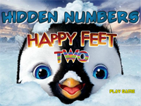 Hidden Numbers : Happy Feet 2