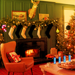 Christmas Decor House Escape