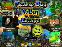 WOW Picasso Bug Valley Escape