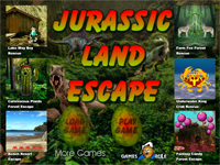 G2R Jurassic Land Escape