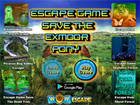 WOW Escape Game Save The Exmoor Pony