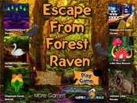 G2R Escape From Forest Raven