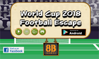 8B World Cup 2018 Football Escape
