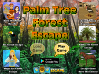 WOW Palm Tree Forest Escape