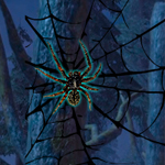 WOW Black Widow Spider Forest Escape