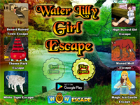 WOW Water Lilly Girl Escape