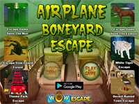 WOW Airplane Boneyard Escape