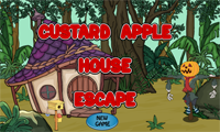G2J Custard Apple House Escape