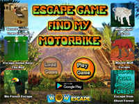 WOW Escape Game Find My Motorbike