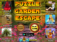 WOW Puzzle Garden Escape