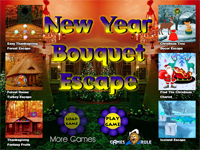 New Year Bouquet Escape