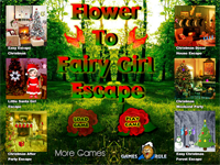 Flower To Fairy Girl Escape