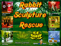 Rabbit Sculpture Rescue