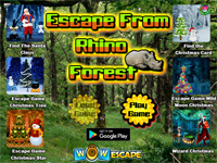 Escape From Rhino Forest