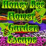 Honey Bee Flower Garden Escape