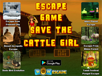 Save The Cattle Girl