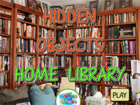 Hidden Objects : Home Library