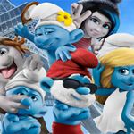 The Smurfs 2 : hidden letters
