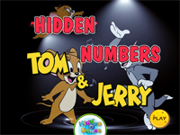 Hidden Numbers Tom And Jerry