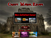 Creepy Manor Escape