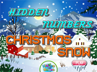 Hidden Numbers : Christmas Snow