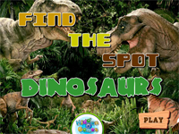 Find The Spot : Dinosaurs
