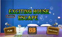 8B Exciting house escape