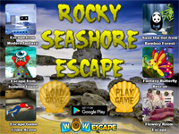 Rocky Seashore Escape