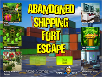 Abandoned Shipping Fort Escape