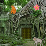 Abandoned Monkey Temple Escape