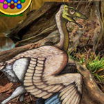 Archaeopteryx Bird Forest Escape