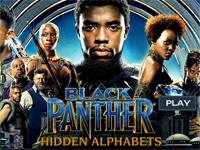 Black Panther : Hidden Alphabets
