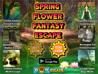 Spring Flower Fantasy Escape