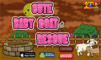 G2J Cute Baby Goat Rescue