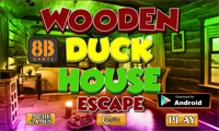 8B Wooden Duck House Escape