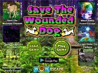WOW Save The Wounded Dog