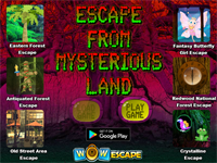 WOW Escape From Mysterious Land