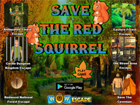 WOW Save The Red Squirrel