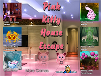 G2R Pink Kitty House Escape